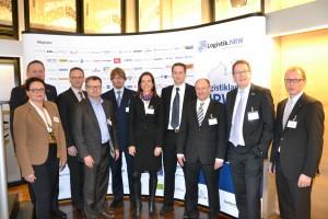 Die Referenten des BranchenForums HandelsLogistik NRW am 24. Februar 2014 in Dortmund