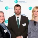 Karin Eksen, Jens Meyer, Vanessa Steinhoff | Jahresempfang der Handelsverbände 2014 | © HV NRW
