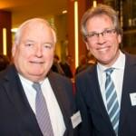 Friedrich G. Conzen, Michael Radau | Jahresempfang der Handelsverbände 2014 | © HV NRW
