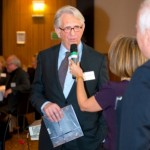 Franz-Rudolf Sanktjohanser, Gisela Steinhauer | Jahresempfang der Handelsverbände 2014 | © HV NRW